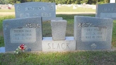 PEASE SLACK, ORA - Webster County, Louisiana | ORA PEASE SLACK - Louisiana Gravestone Photos