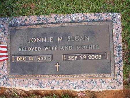 SLOAN, JONNIE M - Webster County, Louisiana | JONNIE M SLOAN - Louisiana Gravestone Photos