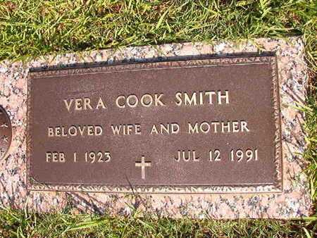 COOK SMITH, VERA - Webster County, Louisiana | VERA COOK SMITH - Louisiana Gravestone Photos