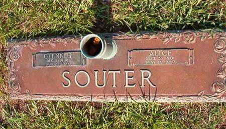 SOUTER, GLENN H - Webster County, Louisiana | GLENN H SOUTER - Louisiana Gravestone Photos