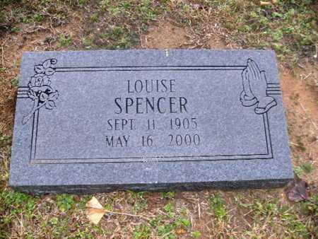 SPENCER, LOUISE - Webster County, Louisiana | LOUISE SPENCER - Louisiana Gravestone Photos
