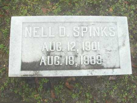 SPINKS, NELL - Webster County, Louisiana | NELL SPINKS - Louisiana Gravestone Photos