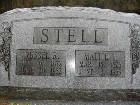 STELL, RUSSEL R - Webster County, Louisiana | RUSSEL R STELL - Louisiana Gravestone Photos