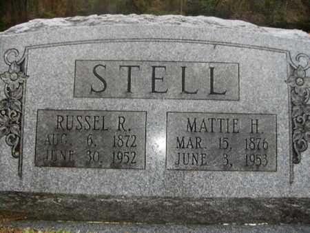 STELL, MATTIE H - Webster County, Louisiana | MATTIE H STELL - Louisiana Gravestone Photos