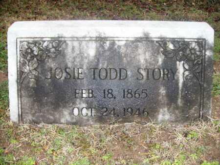 STORY, JOSIE - Webster County, Louisiana   JOSIE STORY - Louisiana Gravestone Photos