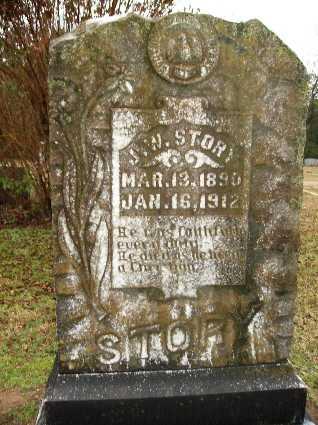 STORY, JUNIUS W - Webster County, Louisiana | JUNIUS W STORY - Louisiana Gravestone Photos