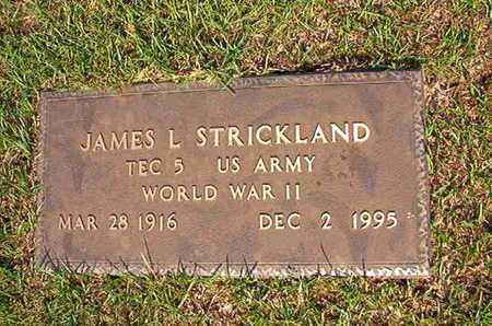 STRICKLAND, JAMES L (VETERAN WWII) - Webster County, Louisiana | JAMES L (VETERAN WWII) STRICKLAND - Louisiana Gravestone Photos
