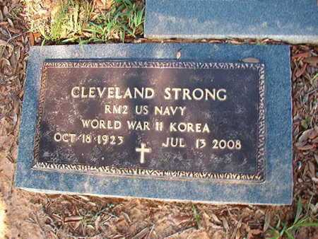 STRONG, CLEVELAND (VETERAN 2 WARS) - Webster County, Louisiana | CLEVELAND (VETERAN 2 WARS) STRONG - Louisiana Gravestone Photos