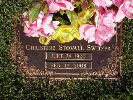 SWITZER, CHRISTINE - Webster County, Louisiana | CHRISTINE SWITZER - Louisiana Gravestone Photos