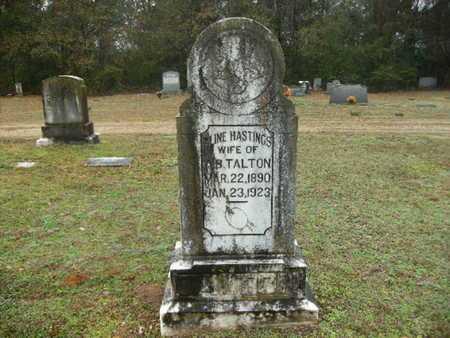 HASTINGS TALTON, ALINE - Webster County, Louisiana | ALINE HASTINGS TALTON - Louisiana Gravestone Photos