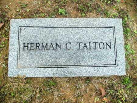 TALTON, HERMAN C - Webster County, Louisiana | HERMAN C TALTON - Louisiana Gravestone Photos