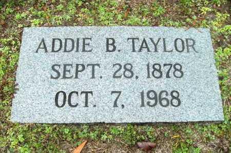 TAYLOR, ADDIE B - Webster County, Louisiana | ADDIE B TAYLOR - Louisiana Gravestone Photos