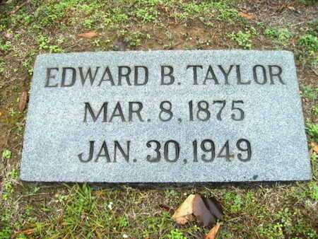 TAYLOR, EDWARD B - Webster County, Louisiana | EDWARD B TAYLOR - Louisiana Gravestone Photos