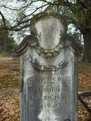 TAYLOR, JACQUELINE - Webster County, Louisiana | JACQUELINE TAYLOR - Louisiana Gravestone Photos