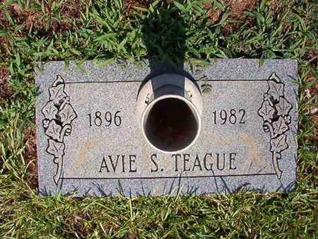 TEAGUE, AVIE S - Webster County, Louisiana | AVIE S TEAGUE - Louisiana Gravestone Photos