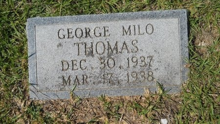 THOMAS, GEORGE MILO - Webster County, Louisiana | GEORGE MILO THOMAS - Louisiana Gravestone Photos