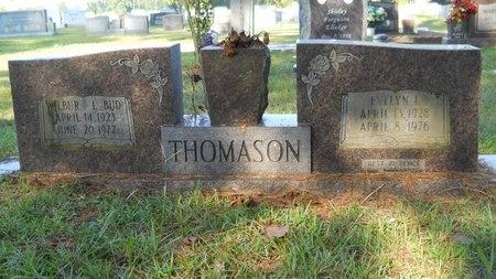 THOMASON, EVELYN L - Webster County, Louisiana | EVELYN L THOMASON - Louisiana Gravestone Photos