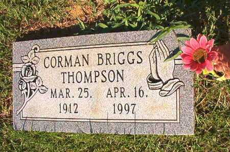 THOMPSON, CORMAN BRIGGS - Webster County, Louisiana | CORMAN BRIGGS THOMPSON - Louisiana Gravestone Photos