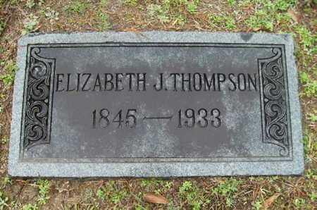 THOMPSON, ELIZABETH J - Webster County, Louisiana | ELIZABETH J THOMPSON - Louisiana Gravestone Photos