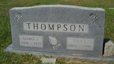 LAY THOMPSON, LOLA - Webster County, Louisiana | LOLA LAY THOMPSON - Louisiana Gravestone Photos