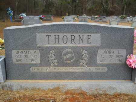 THORNE, NORA L - Webster County, Louisiana | NORA L THORNE - Louisiana Gravestone Photos