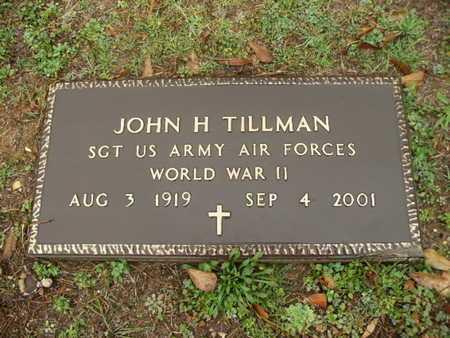 TILLMAN, JOHN H (VETERAN WWII) - Webster County, Louisiana | JOHN H (VETERAN WWII) TILLMAN - Louisiana Gravestone Photos