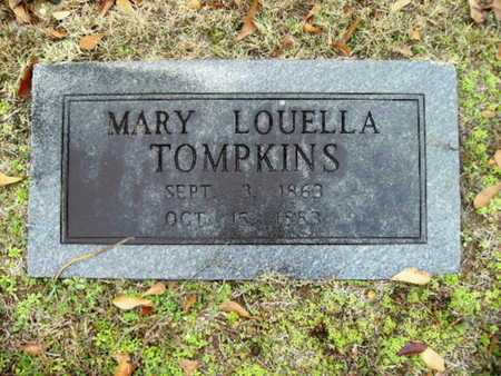 TOMPKINS, MARY LOUELLA - Webster County, Louisiana | MARY LOUELLA TOMPKINS - Louisiana Gravestone Photos