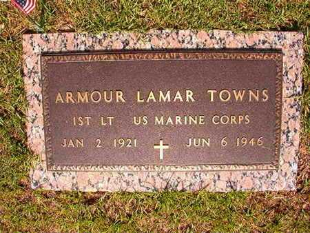 TOWNS, ARMOUR LAMAR (VETERAN WWII, MIA) - Webster County, Louisiana | ARMOUR LAMAR (VETERAN WWII, MIA) TOWNS - Louisiana Gravestone Photos