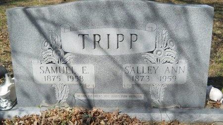 TRIPP, SAMUEL E - Webster County, Louisiana | SAMUEL E TRIPP - Louisiana Gravestone Photos