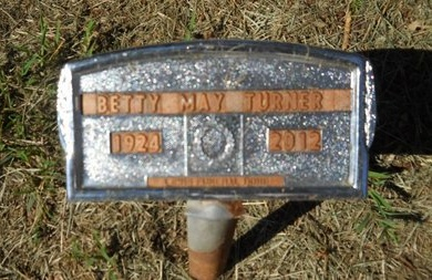 TURNER, BETTY MAY (OBIT) - Webster County, Louisiana | BETTY MAY (OBIT) TURNER - Louisiana Gravestone Photos