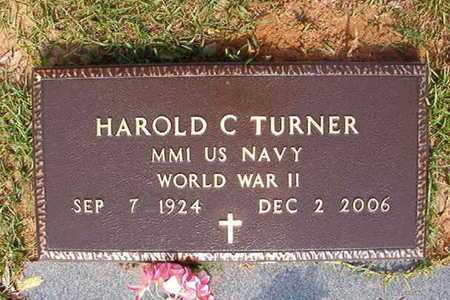 TURNER, HAROLD C (VETERAN WWII) - Webster County, Louisiana | HAROLD C (VETERAN WWII) TURNER - Louisiana Gravestone Photos