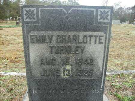 TURNLEY, EMILY CHARLOTTE - Webster County, Louisiana | EMILY CHARLOTTE TURNLEY - Louisiana Gravestone Photos