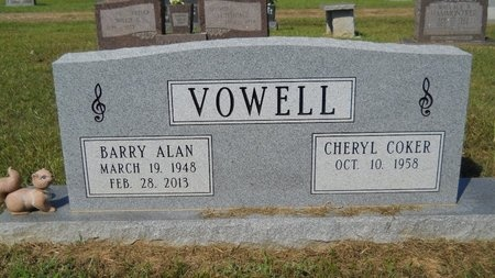VOWELL, BARRY ALAN (OBIT) - Webster County, Louisiana   BARRY ALAN (OBIT) VOWELL - Louisiana Gravestone Photos