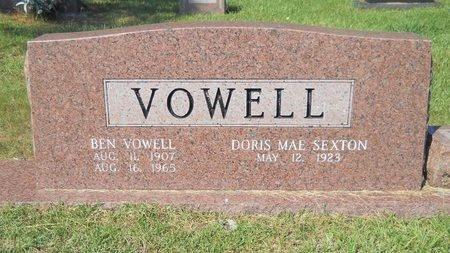 VOWELL, BEN - Webster County, Louisiana | BEN VOWELL - Louisiana Gravestone Photos