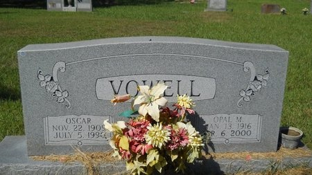 VOWELL, OPAL M - Webster County, Louisiana | OPAL M VOWELL - Louisiana Gravestone Photos