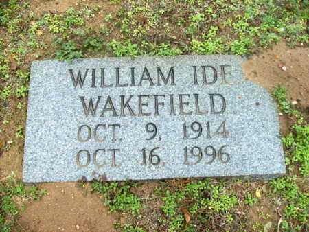 WAKEFIELD, WILLIAM IDE - Webster County, Louisiana | WILLIAM IDE WAKEFIELD - Louisiana Gravestone Photos