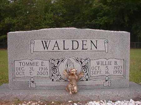 WALDEN, TOMMIE E - Webster County, Louisiana | TOMMIE E WALDEN - Louisiana Gravestone Photos