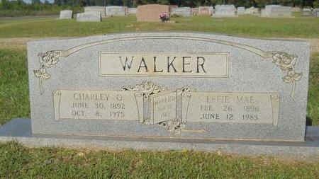 WALKER, CHARLEY O - Webster County, Louisiana | CHARLEY O WALKER - Louisiana Gravestone Photos