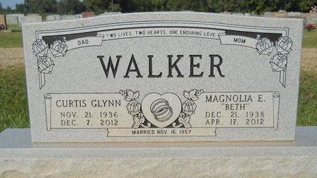 WALKER, CURTIS GLYNN - Webster County, Louisiana   CURTIS GLYNN WALKER - Louisiana Gravestone Photos
