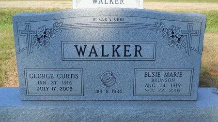 WALKER, ELSIE MARIE - Webster County, Louisiana   ELSIE MARIE WALKER - Louisiana Gravestone Photos