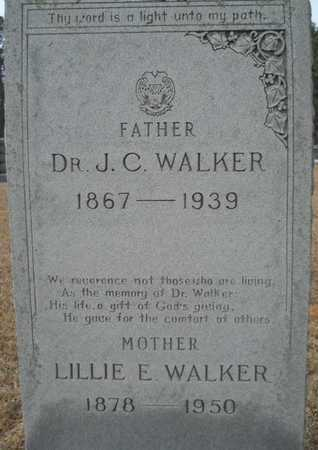 WALKER, J C, DR (CLOSE UP) - Webster County, Louisiana | J C, DR (CLOSE UP) WALKER - Louisiana Gravestone Photos