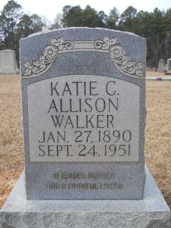 ALLISON WALKER, KATIE C - Webster County, Louisiana | KATIE C ALLISON WALKER - Louisiana Gravestone Photos