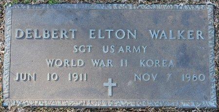 WALKER, DELBERT ELTON (VETERAN 2 WARS) - Webster County, Louisiana | DELBERT ELTON (VETERAN 2 WARS) WALKER - Louisiana Gravestone Photos