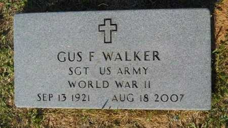 WALKER, GUS F (VETERAN WWII) - Webster County, Louisiana | GUS F (VETERAN WWII) WALKER - Louisiana Gravestone Photos