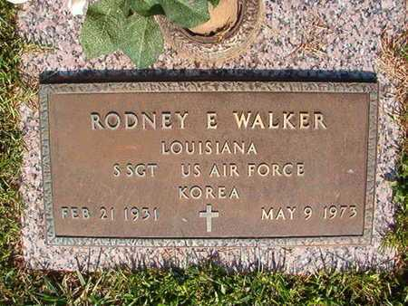 WALKER, RODNEY E (VETERAN KOR) - Webster County, Louisiana | RODNEY E (VETERAN KOR) WALKER - Louisiana Gravestone Photos
