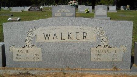 WALKER, MAUDE E - Webster County, Louisiana | MAUDE E WALKER - Louisiana Gravestone Photos