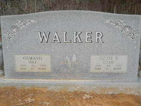 WALKER, OZZIE V - Webster County, Louisiana   OZZIE V WALKER - Louisiana Gravestone Photos