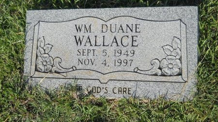 WALLACE, WILLIAM DUANE - Webster County, Louisiana | WILLIAM DUANE WALLACE - Louisiana Gravestone Photos