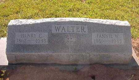 WALTER, HENRY C - Webster County, Louisiana | HENRY C WALTER - Louisiana Gravestone Photos