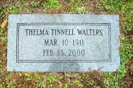 CRAINE TINNELL WALTERS, THELMA MARIE - Webster County, Louisiana | THELMA MARIE CRAINE TINNELL WALTERS - Louisiana Gravestone Photos